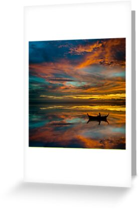 Sunset in Thailand by laurentlesax