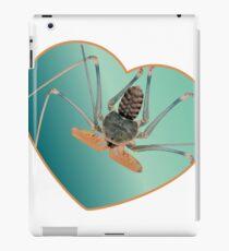Amblypygi love - Acanthophrynus coronatus iPad Case/Skin