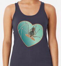 Amblypygi love - Acanthophrynus coronatus Racerback Tank Top