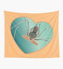 Amblypygi love - Acanthophrynus coronatus Wall Tapestry