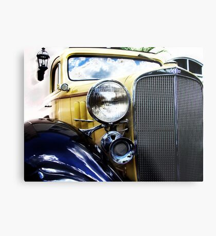 a very old chevy Metal Print