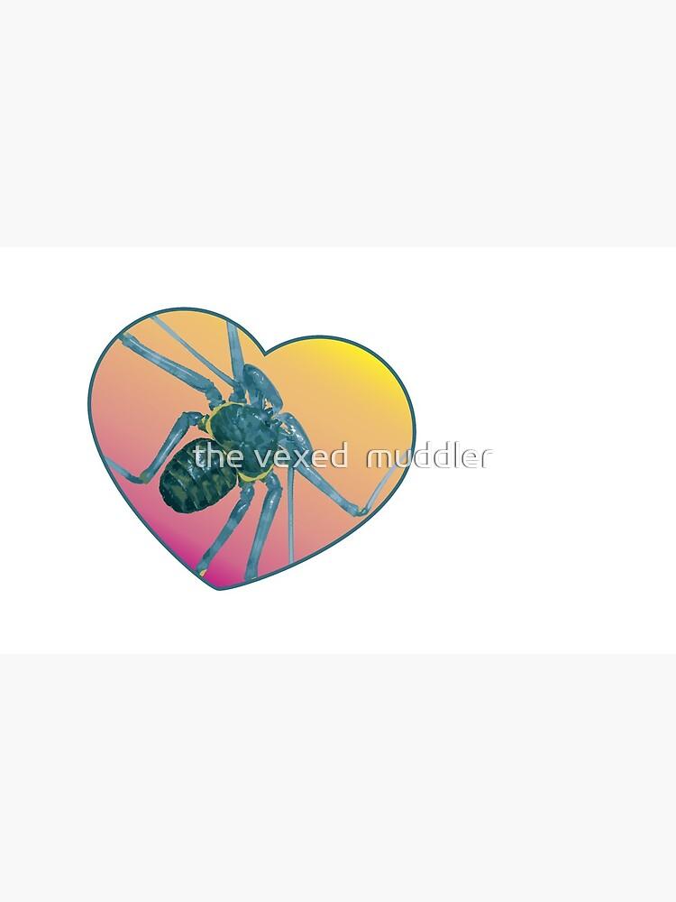 Amblypygi love - Phrynus whitei by thevexedmuddler