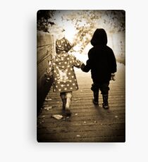 Together.. Canvas Print