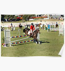 Perth Royal Show - Show Jumper - Precise Landing Poster
