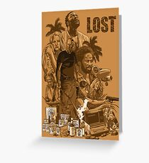 LOST 2 Greeting Card