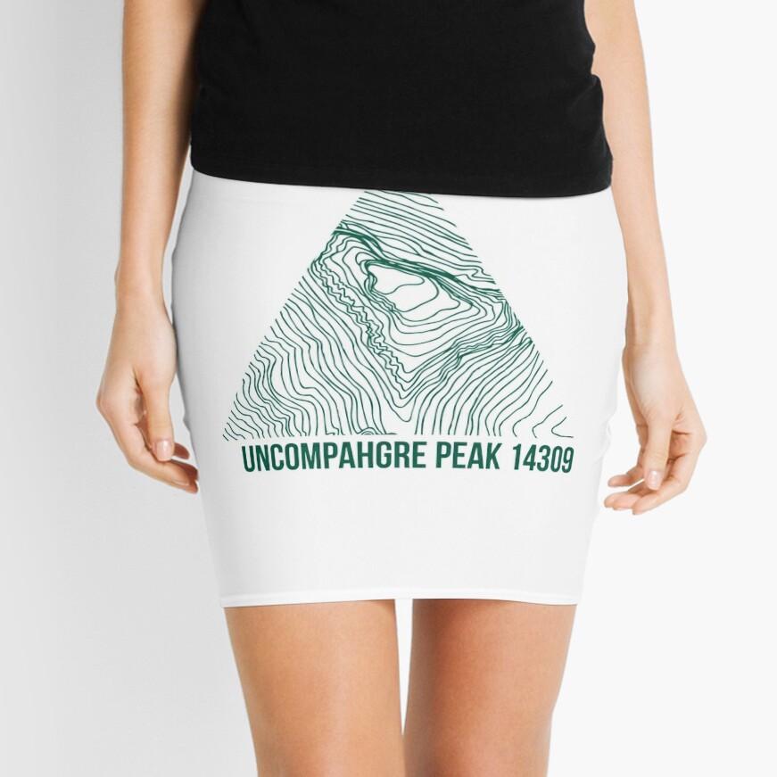 Uncompahgre Peak Topo Minirock
