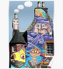 Kelburn Castle Graffiti Project - Fairlie Scotland Poster