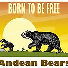 «Born To Be Free - Andean Bears» de Denis Torres