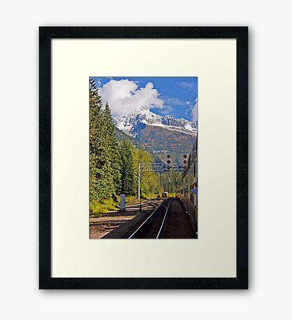Rocky Mountaineer #1 Framed Print