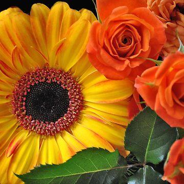 Blooming in Brightness-Flowers by AlexJeffery