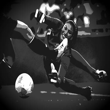B/W Hope Solo  by hfournier