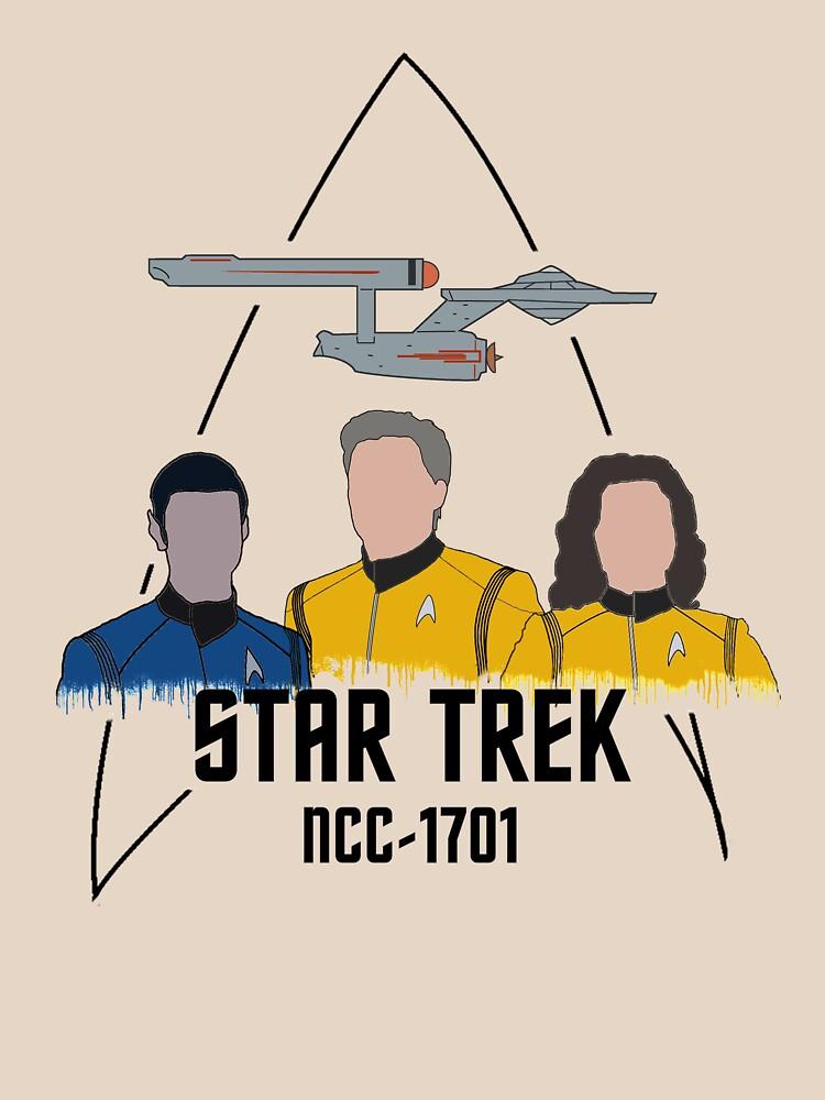 «Équipage de pont NCC-1701» par sci-fi-nerd