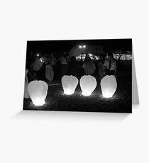 Light 'em up Grußkarte
