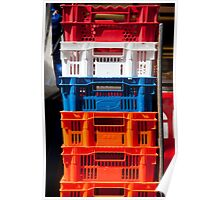 Crates Of Color Poster