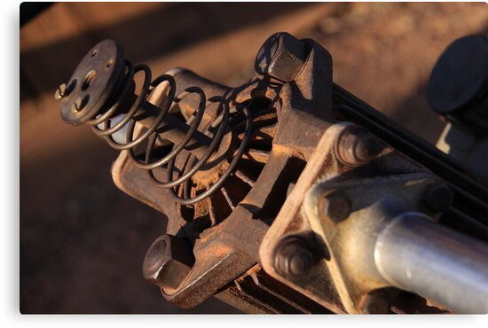 Old Hammer Drill - Detail by Paolo Del Rocino