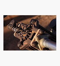 Old Hammer Drill - Detail Photographic Print