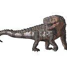 Saurosuchus galilei by Sean Closson