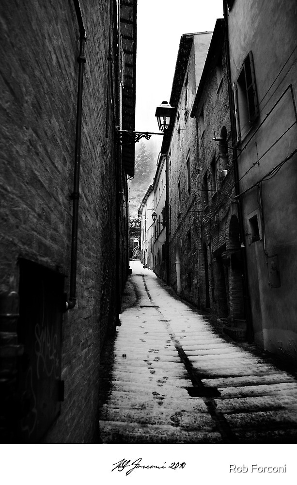 The Victorian Alley by Rob Forconi