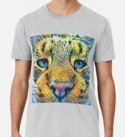 #DeepDreamed Cat v1449127170 Premium T-Shirt