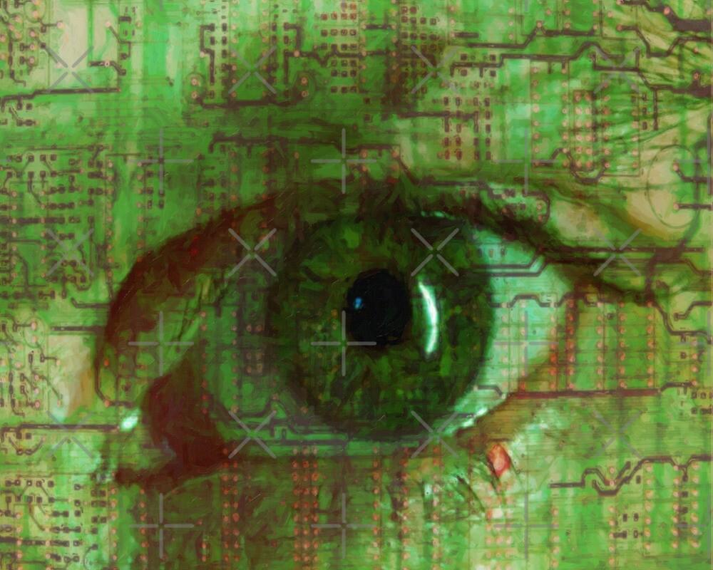 Eye of a Cyborg by Gal Lo Leggio