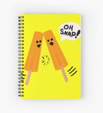 Oh Snap! (Popsicles Split Up) Spiral Notebook