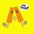 Oh Snap! (Popsicles Split Up) by mikepop