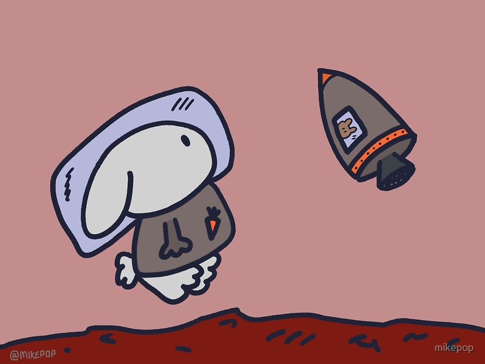 Bunnies In Space by mikepop