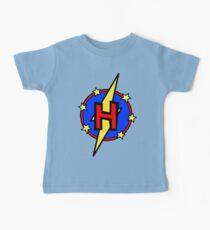 Cute Little SuperHero Geek - Super Letter H Baby T-Shirt