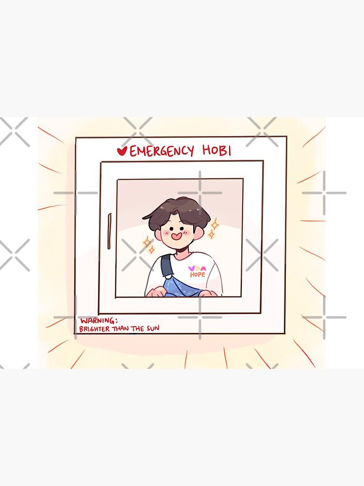 BTS: EMERGENCY HOBI! by randomsplashes