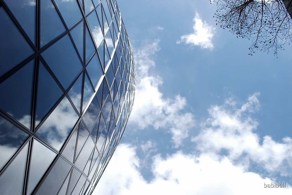 Glass and Sky by babibell