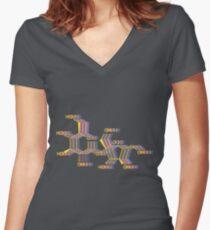 Sugar Rush Women's Fitted V-Neck T-Shirt