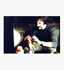 Tom Savini Again Photographic Print