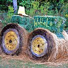 Hay Tractor by Chelei
