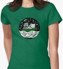 Beautiful Pea Green Boat Tee T-Shirt