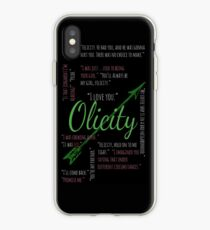 Olicity Quotes iPhone Case