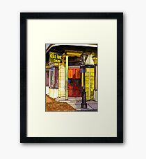 Gold Mine Saloon Framed Print