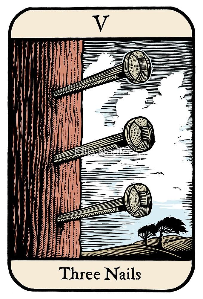Three Nails by Ellis Nadler