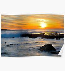Australia Sunset Poster