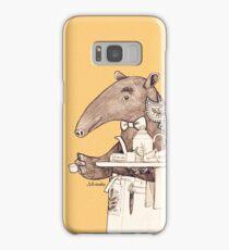 Tea time starts now - Malayan Tapir  Samsung Galaxy Case/Skin