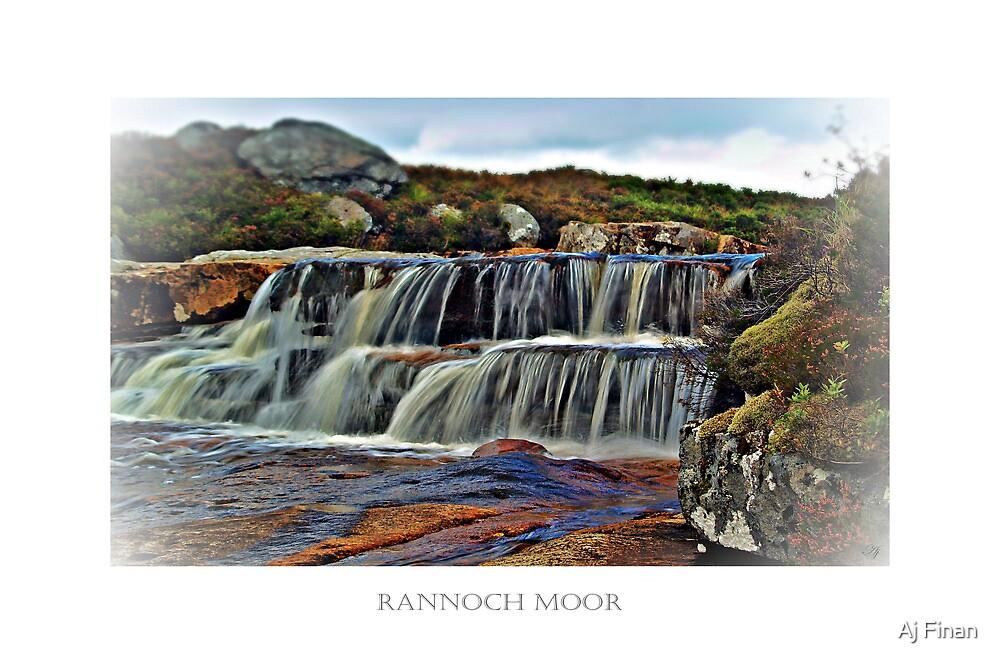 The Secret River Of Rannoch Moor. by Aj Finan