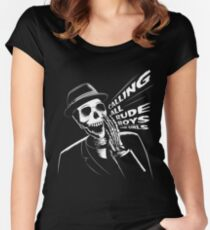Calling all rude boys and girls Women's Fitted Scoop T-Shirt