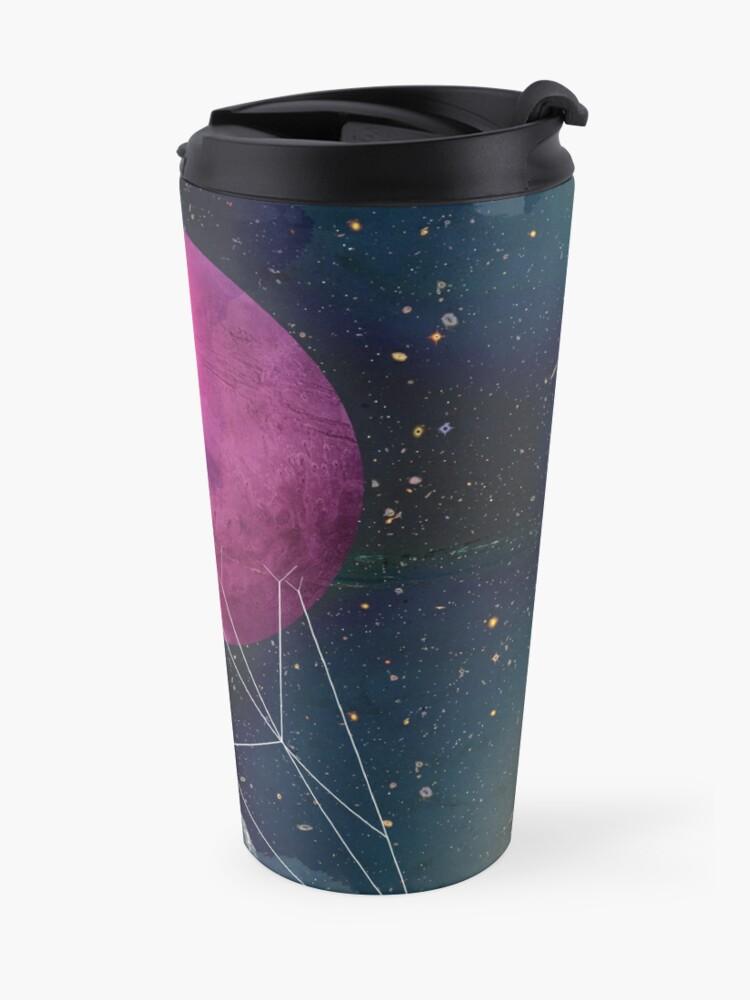 Alternate view of Intergalactic bridges Travel Mug