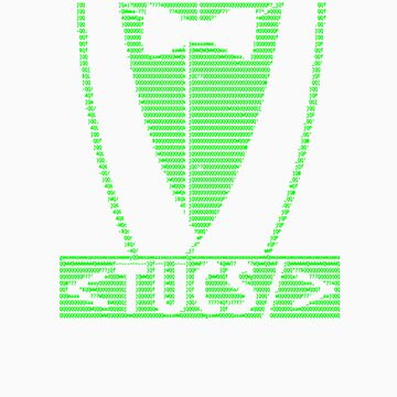 TUCS ASCII Art (Green on Black) by chrisjrn