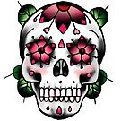 Sugar Skull - Pink by everchangingINK