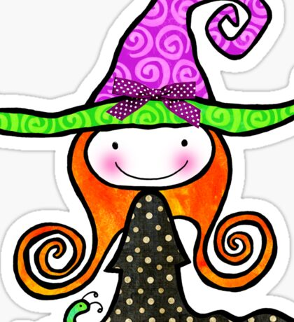Tabitha Witchy Sticker