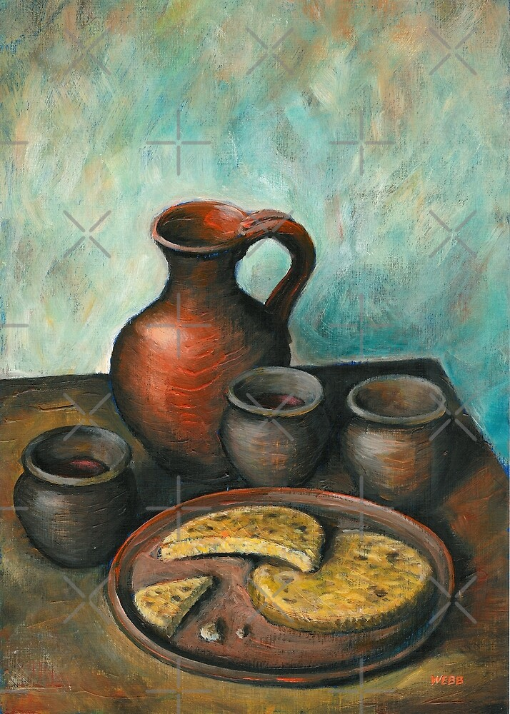Bread & Wine by wonder-webb