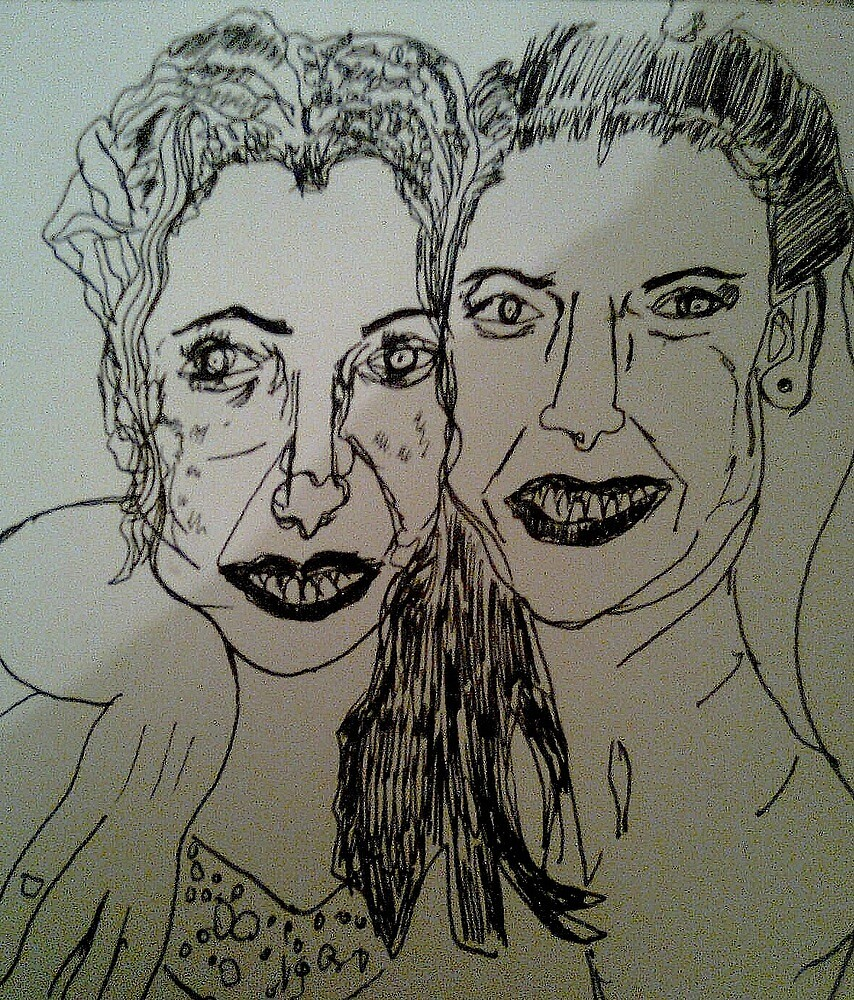 ink pen sketch.. sorry anni! by tim norman