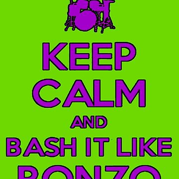 Bash it like Bonzo by Zeppy