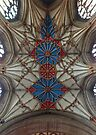 Abbey Ceiling by Yampimon