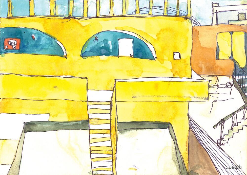 Rooftops of Mali by Jaelah